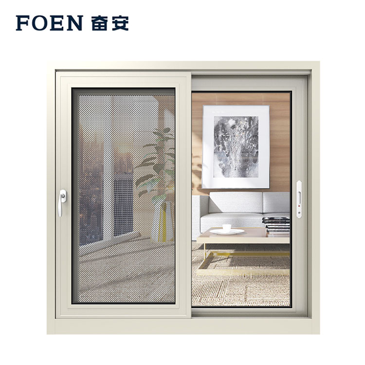Home sliver aluminum sliding kitchen window
