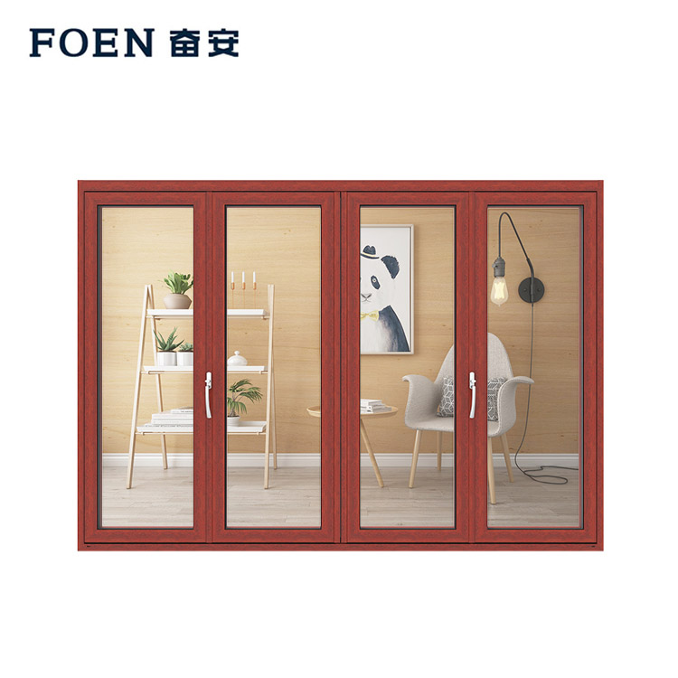 Commercial aluminium folding doors